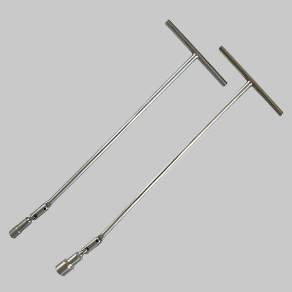 Heavy duty spark plug wrench