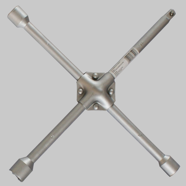 weifangCross rim wrench(iron pad)